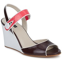 Scarpe Donna Sandali Marc Jacobs VOGUE GOAT BORDEAUX / Rosa
