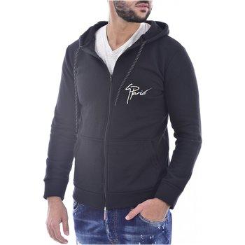Abbigliamento Uomo Felpe Goldenim Paris Felpa zip 1476 - Uomo nero