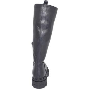 Scarpe Donna Stivali Ls Luisantiago Stivali donna  Xena Platform boots in vera pelle NERO