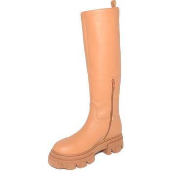 Scarpe Donna Stivali Ls Luisantiago Stivali donna  xena platform boots in vera pelle CUOIO