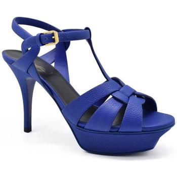 Scarpe Donna Sandali Saint Laurent  Blu
