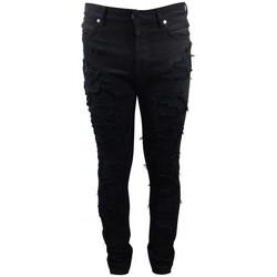 Abbigliamento Unisex bambino Jeans Balmain  Nero
