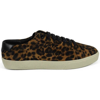 Scarpe Donna Sneakers Saint Laurent  Marrone
