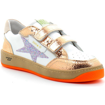 Scarpe Bambina Sneakers basse Semerdjian ARGEL Blanc