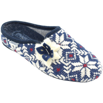 Scarpe Donna Pantofole Emanuela AEMA1559blu blu