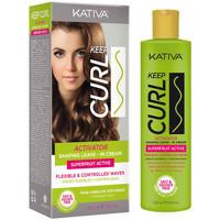 Bellezza Donna Gel & Modellante per capelli Kativa Keep Curl Activator Leave-in Cream  200 ml