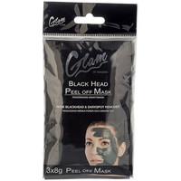 Bellezza Donna Maschere & scrub Glam Of Sweden Mask Black Head Peel Off 3 X 8 Gr