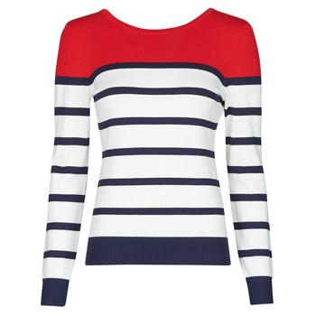 Abbigliamento Donna Maglioni Betty London ORALI Rosso / Ecru