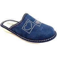Scarpe Donna Pantofole Donna Moderna ATRMPN-23778 Blu