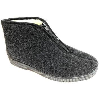 Scarpe Uomo Pantofole Lavorazione Artigianale Italiana ATRMPN-23781 Grigio
