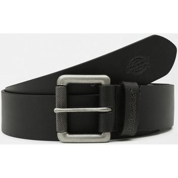 Accessori Uomo Cinture Dickies South shore leather belt Nero