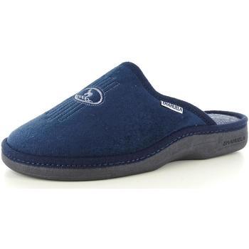 Scarpe Uomo Pantofole Emanuela 17716 BLU