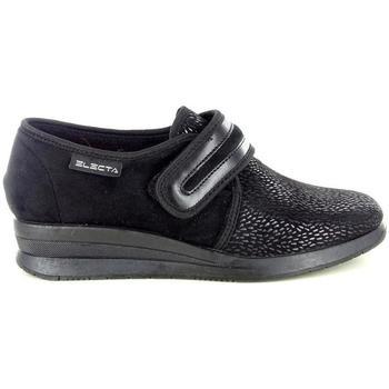 Scarpe Donna Pantofole Electa 52626 NERO