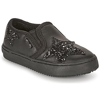 Scarpe Bambina Sneakers basse Geox J KALISPERA FILLE Nero
