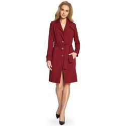 Abbigliamento Donna Abiti corti Style S094 Trench - marrone