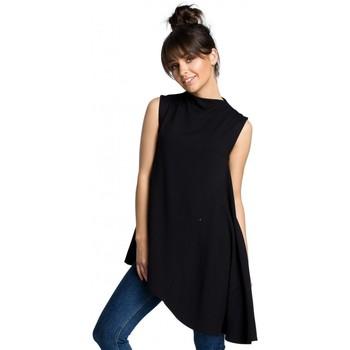 Abbigliamento Donna Top / Blusa Be B069 Top asimmetrico senza maniche - nero
