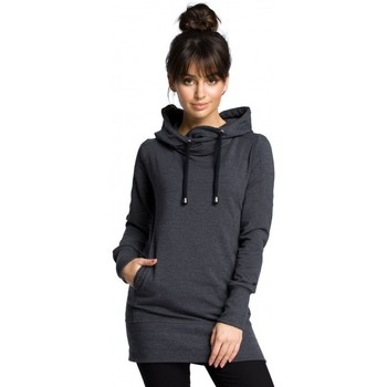 Abbigliamento Donna Felpe Be B072 Pullover lungo - grafite