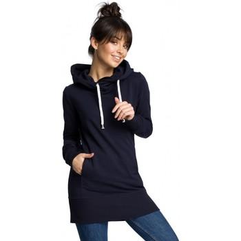 Abbigliamento Donna Felpe Be B072 Pullover lungo - blu navy