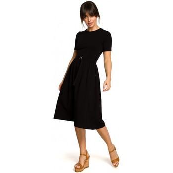 Abbigliamento Donna Abiti corti Be B120 - Vestito midi fit and flare - ecru