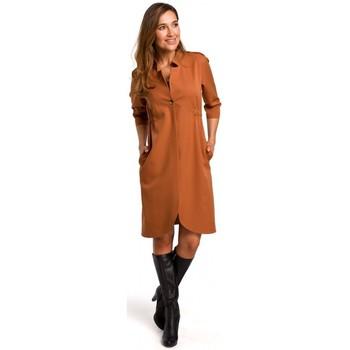 Abbigliamento Donna Vestiti Style S189 Abito blazer - zenzero