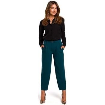 Abbigliamento Donna Camicie Style S192 Camicia a maniche lunghe con colletto - bianco