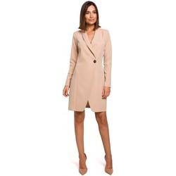 Abbigliamento Donna Vestiti Style S217 Abito blazer - beige