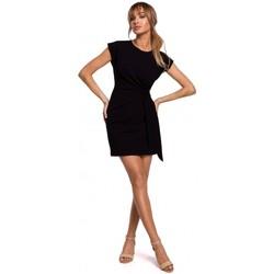 Abbigliamento Donna Abiti corti Moe M508 Mini abito con nodo - nero