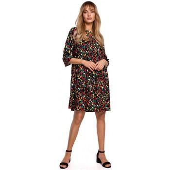 Abbigliamento Donna Abiti corti Moe M521 Abito con maniche a balze - modello 6