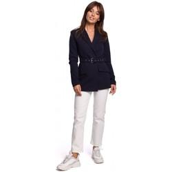 Abbigliamento Donna Giacche da completo Be B160 Tuta intera con cintura con fibbia - nero