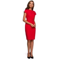 Abbigliamento Donna Abiti corti Style S240 Vestito avvolgente - nero