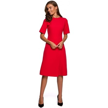 Abbigliamento Donna Abiti corti Style S240 - Vestito a portafoglio - blu navy