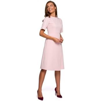 Abbigliamento Donna Abiti corti Style S241 Tuta intera con doppio davanti - nero