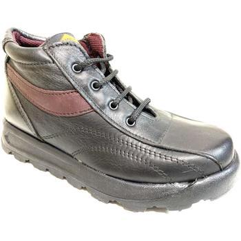Scarpe Unisex bambino Sneakers alte Cristian's ATRMPN-23795 Nero