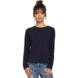Abbigliamento Donna Top / Blusa Be B047 Camicetta versatile - blu navy