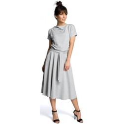 Abbigliamento Donna Abiti corti Be B067 Abito svasato - grigio