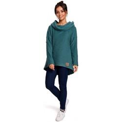 Abbigliamento Donna Felpe Be B131 Pullover a collo alto - turchese