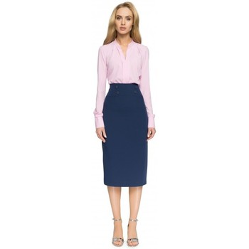 Abbigliamento Donna Gonne Style S065 Gonna midi a matita - blu navy