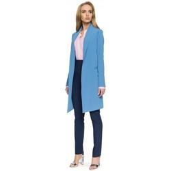 Abbigliamento Donna Giacche da completo Style S071 Blazer lungo - blu