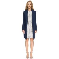 Abbigliamento Donna Giacche da completo Style S071 Blazer lungo - blu navy