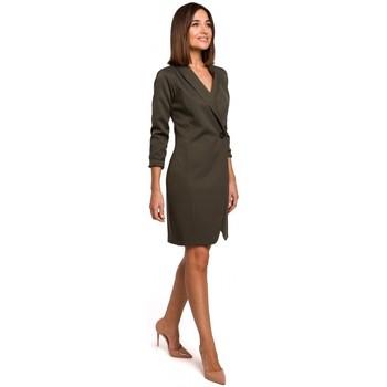 Abbigliamento Donna Vestiti Style S217 Abito blazer - cachi