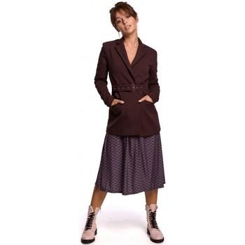 Abbigliamento Donna Giacche da completo Be B159 Cintura con fibbia blazer - verde scuro