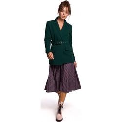 Abbigliamento Donna Giacche da completo Be B159 Cintura con fibbia blazer - blu navy