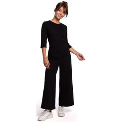 Abbigliamento Donna Tuta jumpsuit / Salopette Be B174 Tuta a gamba larga - nero