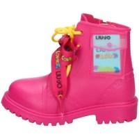 Scarpe Bambina Stivali da pioggia Liu Jo - Me Contro Te 4F0835EX1020 FUCSIA