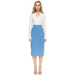Abbigliamento Donna Gonne Style S065 Gonna midi a matita - blu