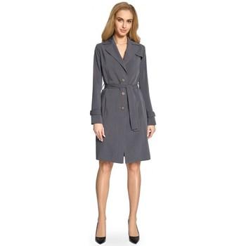 Abbigliamento Donna Trench Style S094 Trench - grigio