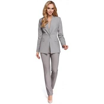 Abbigliamento Donna Giacche da completo Moe M304 Giacca a un bottone - grigio