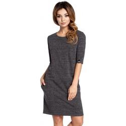 Abbigliamento Donna Vestiti Be B033 - Vestito a caschetto - grafite