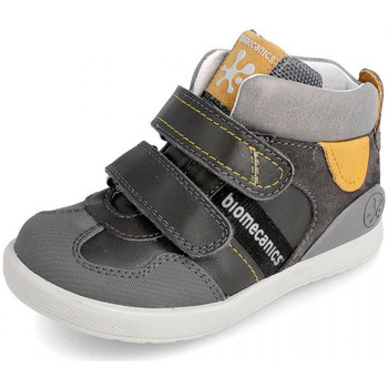Scarpe Unisex bambino Sneakers alte Biomecanics 191188 Grigio
