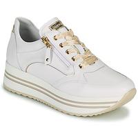Scarpe Donna Sneakers basse NeroGiardini DAKOTA Bianco